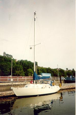 A Spencer 31 Sailboat